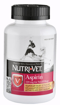 Nutri-Vet Aspirin for Small/Med. Dogs