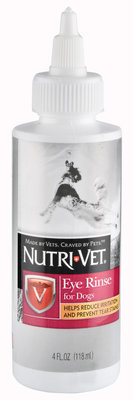 Nutri-Vet Eye Rinse Liquid for Dogs