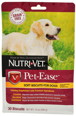 Nutri-Vet Grain-Free Pet-Ease Soft Biscuits