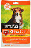 Nutri-Vet Grain-Free Skin & Coat Soft Biscuits