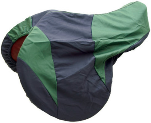Two Tone All-Purpose Saddle Cover, Navy/Green