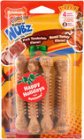 Nylabone Edibles Natural Nubz Dog Chews, Pork/Turkey