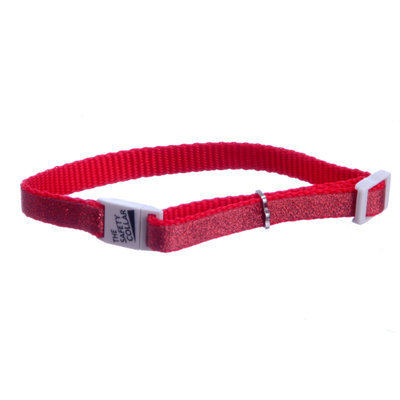 Jeffers Sparkle Nylon Adjustable Cat Collars (without bell)