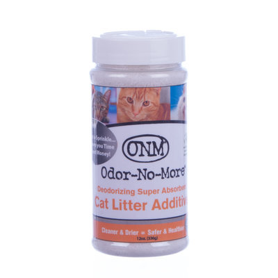 Odor-No-More Litter Additive, 12.5 oz