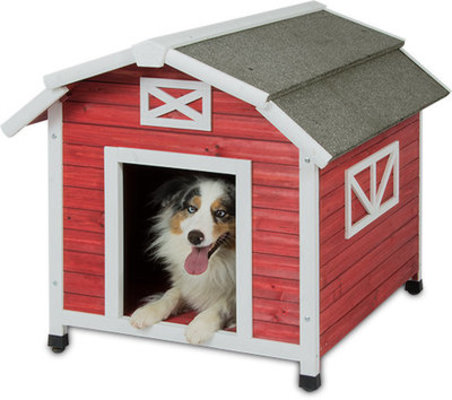 Old Red Barn Dog House