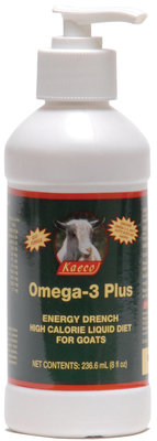Omega-3 Plus High Calorie Liquid for Goats