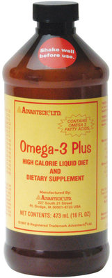 Omega-3 Plus High Calorie Liquid, 16 oz