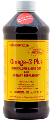 16 oz Omega-3 Plus High Calorie Liquid