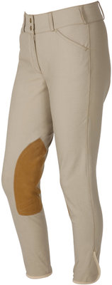 On Course Pytchley Euro Seat Front Zip Breeches, mid rise