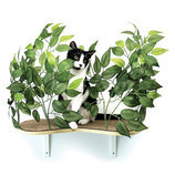 On2Pets Cat Canopy Shelves, Set of 2