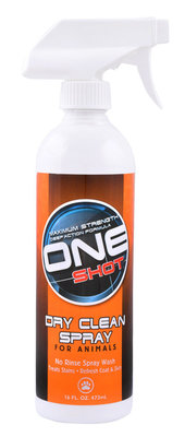 16 oz One Shot Dry Clean Spray