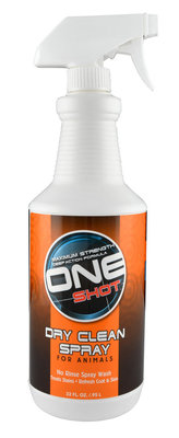 32 oz One Shot Dry Clean Spray
