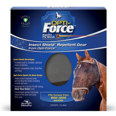 Opti-Force Fly Mask without Ears, Horse