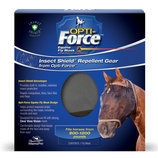 Opti-Force Insect Shield Fly Mask, Oversize
