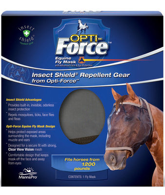Opti-Force Fly Mask, Oversize