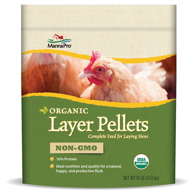 Organic Layer Pellets, 10 lb