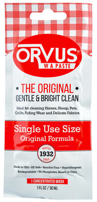 Orvus W.A. Paste, 1 oz single use pouch