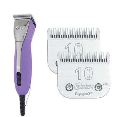 Oster® A6 Purple Clipper w/(2) FREE #10 Blades