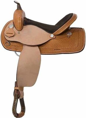 Out West Barrel Saddle