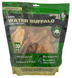 Outback Jack Water Buffalo Ears, 20-pack