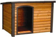 Outback Log Cabin Doghouse