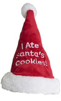 "Small ""I Ate Santa's Cookies"" Hat"