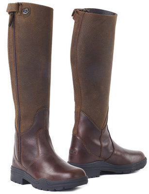 Ovation Moorland Rider Boot, Brown, Wide