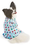 Owl Print Dog Pajamas, Blue