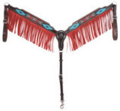 Oxbow Aztec Beaded Breast Collar, Full