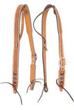Oxbow Beaded Belt Ear Headstall, Full