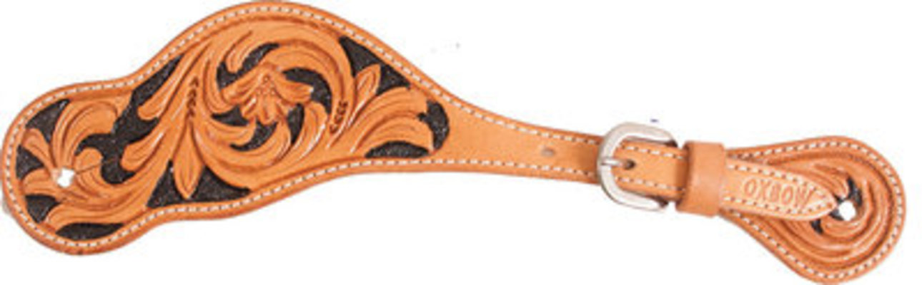 Oxbow Floral Spur Strap