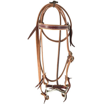 Oxbow Latigo Pony Bridle, Brown