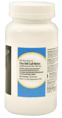 100 count Oxy Calf Boluses, 500 mg