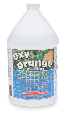 1 Gallon Oxy Orange Concentrated Cleaner