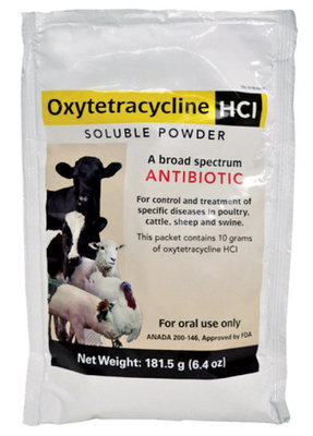 Oxytetracycline HCl Soluble Powder, 6.4 oz