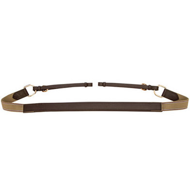 Silver Fox Padded Breast Collar, Brown