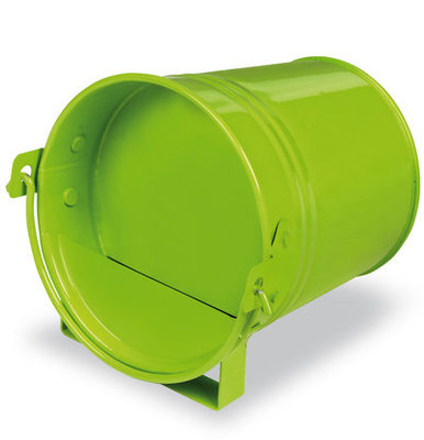 Lime Green Painted Mini Bucket Drinker
