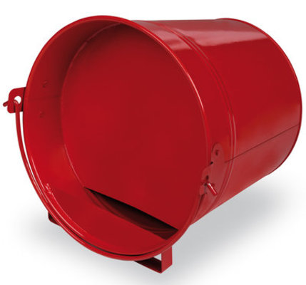 Red Painted 4 Qt. Bucket Drinker