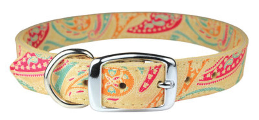 "The Paisley Collection Collar, 22"" - 26"""