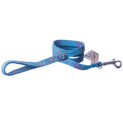 """The Paisley Collection Leash, ½"""" x 4'"""