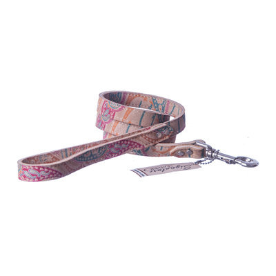 "The Paisley Collection Leash, 3/4"" x 4'"