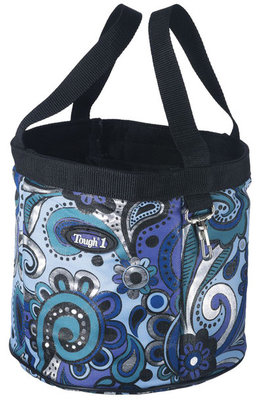"""Paisley Shimmer"" Grooming Caddy"
