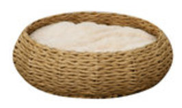 Paper Rope Circle Bed