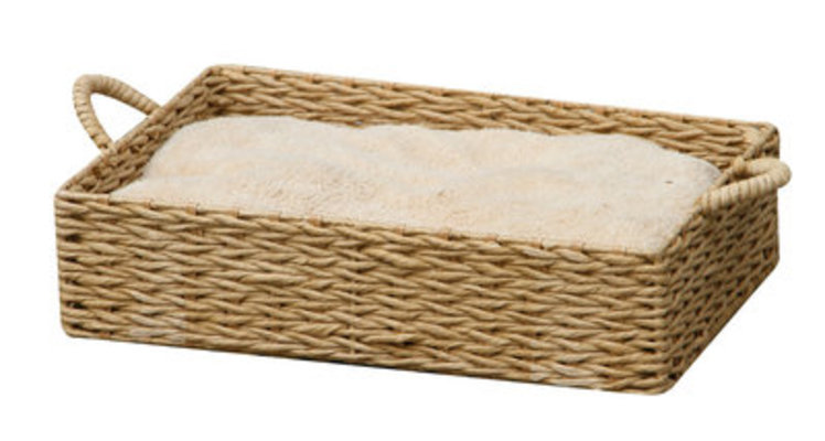Paper Rope Rectangle Pet Bed