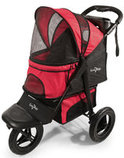 Pathfinder Red G7 Jogger Pet Stroller