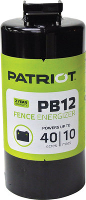 Patriot PB12 Fence Energizer (& Accessories)