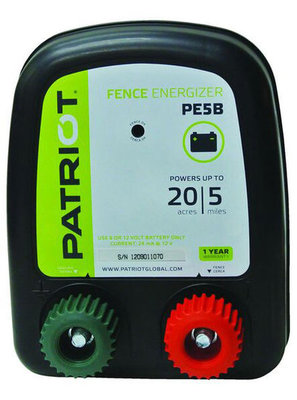 Patriot PE5B Fence Charger