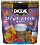 Evolve Oven Baked Dog Biscuits, Peanut Butter & Berry
