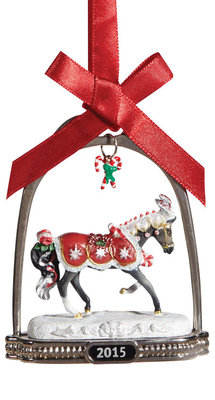 Breyer Peppermint Kiss 2015 Stirrup Ornament