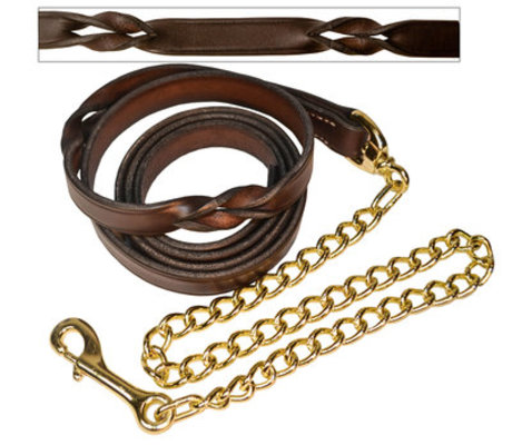 Perri's Twisted Leather Lead